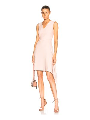 ROLAND MOURET Aylsham Viscose Crepe Dress