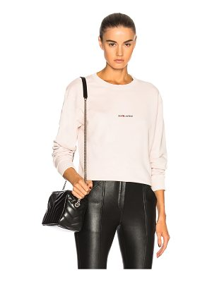 Saint Laurent Crewneck Sweatshirt