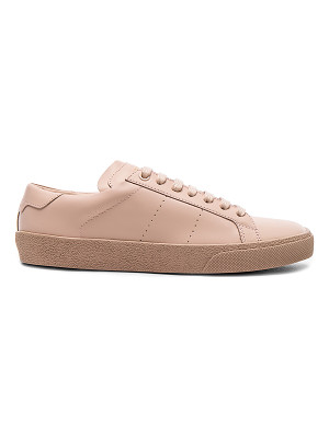 SAINT LAURENT Leather Court Classic Sneakers