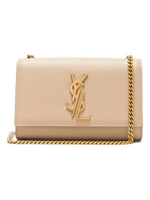 SAINT LAURENT Small Deconstructed Monogramme Kate Clutch