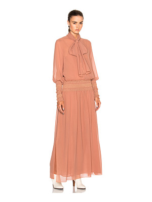 See By Chloe Long Sleeve Maxi Dress