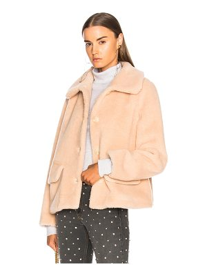 SHRIMPS Clyde Faux Fur Coat