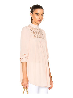 SMYTHE Eyelet Tunic Top