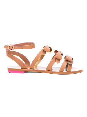 SOPHIA WEBSTER Leather Samara Flat Sandals
