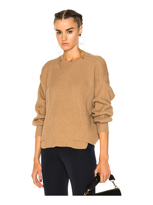 STELLA MCCARTNEY Ribbed Crew Neck Sweater