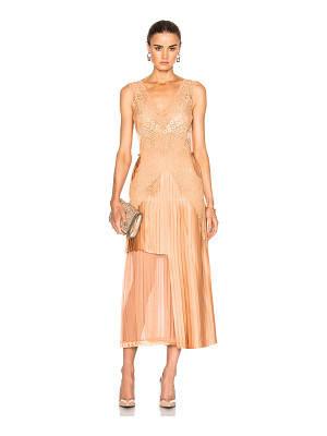 STELLA MCCARTNEY Sable Satin Dress