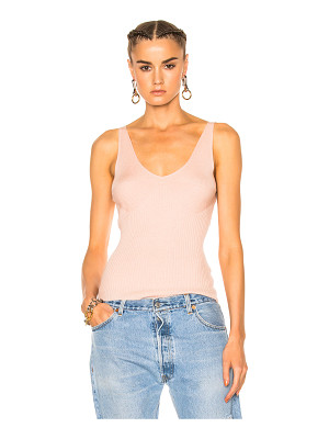 T BY ALEXANDER WANG Rib Cropped Tank Top
