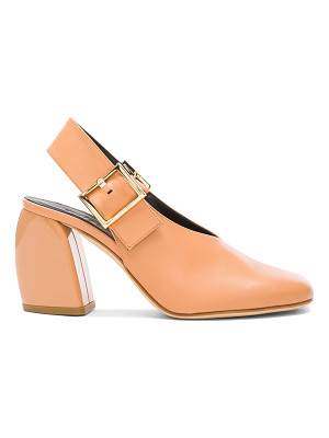 Tibi Leather Jillian Heels