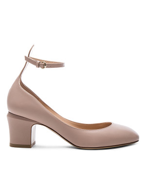 VALENTINO Leather Tan-Go Pumps