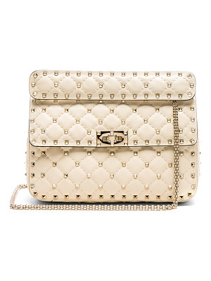 VALENTINO Quilted Rockstud Spike Medium Shoulder Bag
