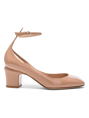 Valentino Patent Leather Tan-Go Pumps