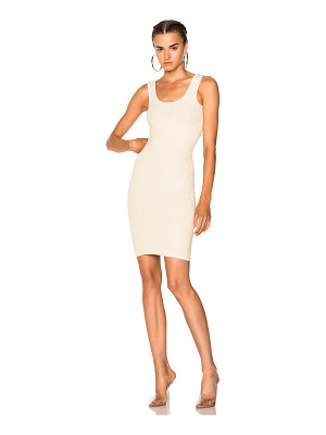 YEEZY Season 4 Ribbed Sleeveless Midi Dress