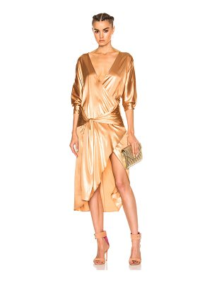 ZEYNEP ARCAY Silk Wrap Dress