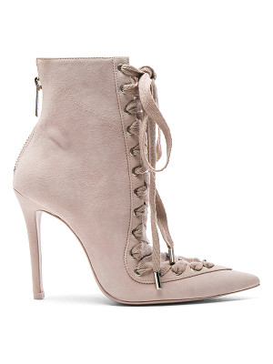 ZIMMERMANN Lace Up Suede Ankle Boots