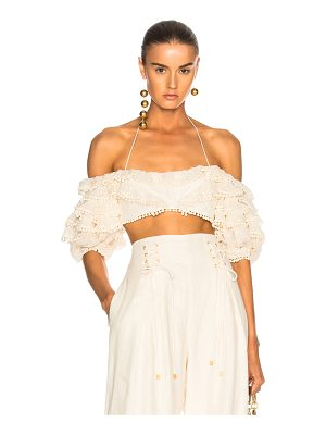 Zimmermann Painted Heart Contour Bodice Top