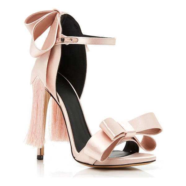 ALEKSANDER SIRADEKIAN Pink Adriana Sandal - These *Aleksander Siradekian* sandals emphasize the female...
