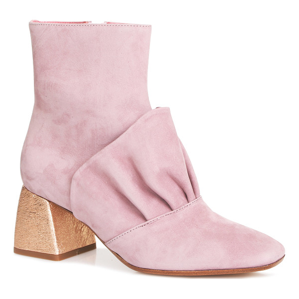 BEAU COOPS X ROMANCE WAS BORN Adalene Leather Bootie - These *Beau Coops x Romance Was Born* high ankle booties...