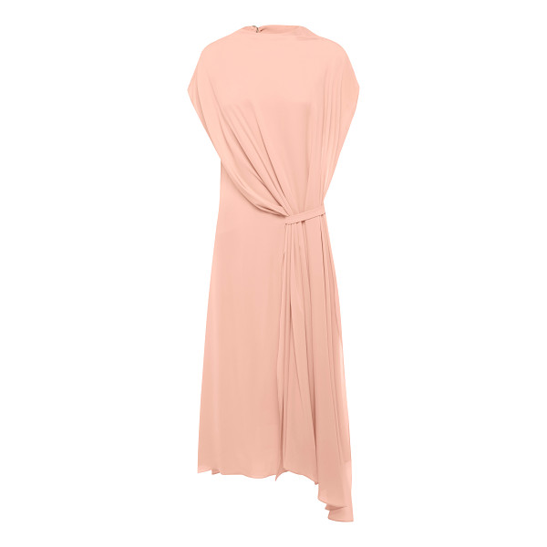 BIANCA SPENDER Funnel Neck Draped Dress - This *Bianca Spender* Funnel Neck Draped Dress features...