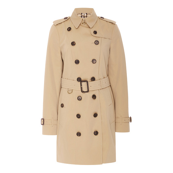 BURBERRY Sandringham Double Breasted Trench Coat - A perennial classic this season the *Burberry* signature...