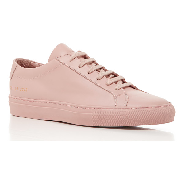 COMMON PROJECTS Achilles Retro Low Sneaker - Designers Prathan Poopat and Flavio Girolami of Common
