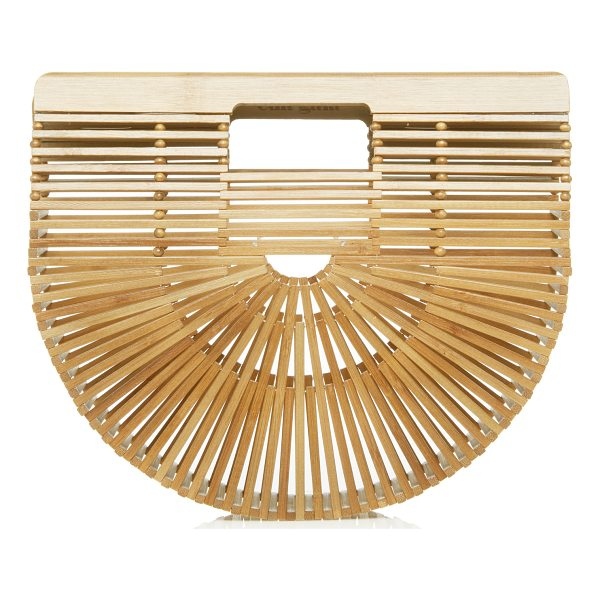 CULT GAIA Mini Gaia's Bamboo Ark - This *Cult Gaia* ark bag is rendered in bamboo and features...