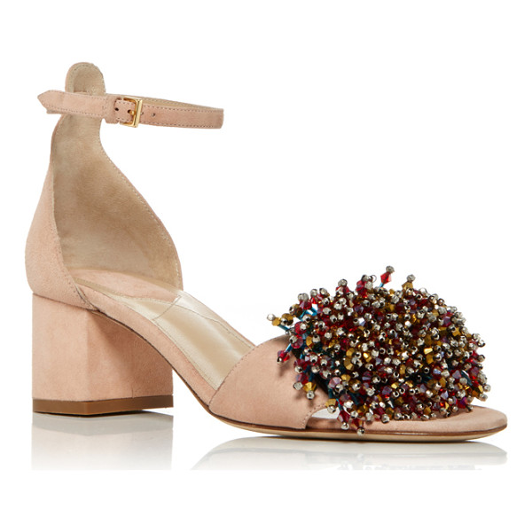 ELIE SAAB Anemone Sandal - This *Elie Saab* sandal is rendered in suede and features...
