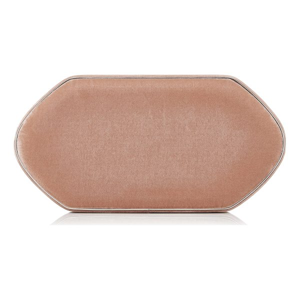 HUNTING SEASON Compact Velvet Clutch - Hunting Season's compact clutch is rendered in smooth...