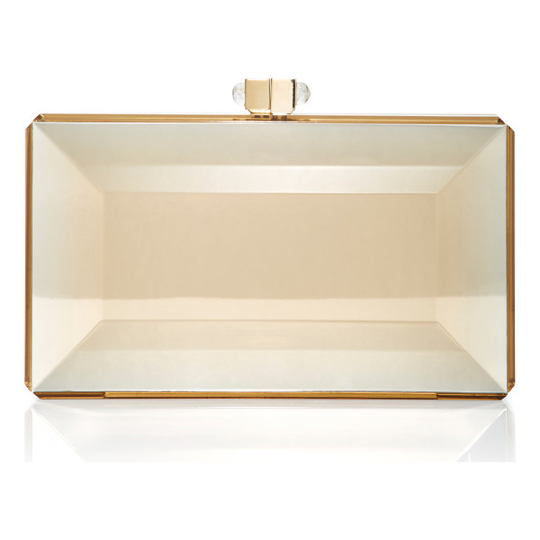 JUDITH LEIBER COUTURE Reflection Clutch - This *Judith Leiber* clutch is rendered in acrylic and...