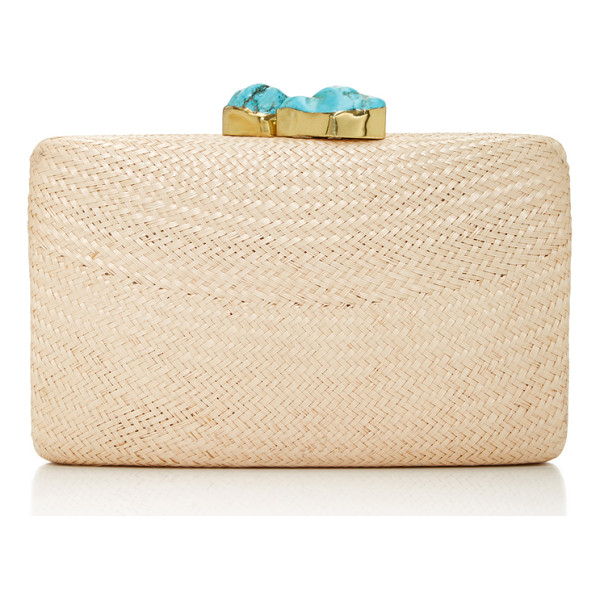 KAYU Jen Clutch - This box clutch by *KAYU* is simple and elegant featuring a