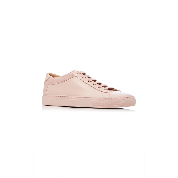 KOIO Capri Fiore Sneaker - This *Koio* sneaker is rendered in leather and features...