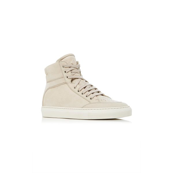 KOIO Primo Crema Sneaker - This *Koio* sneaker is rendered in suede and features tonal...