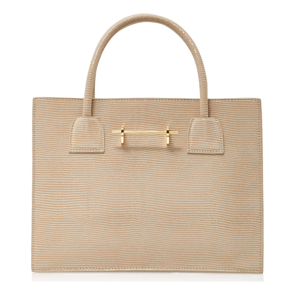 M2MALLETIER Embossed Mini Tote - This *M2Malletier* bag is rendered in embossed suede and...