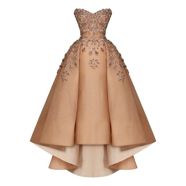 MAISON YEYA Marie Strapless Sequin Gown - This *Maison Yeya* gown features a sweetheart neckline a...