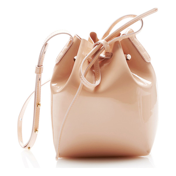 MANSUR GAVRIEL Mini Mini Bucket Bag - This *Mansur Gavriel* mini mini bucket bag is rendered in...