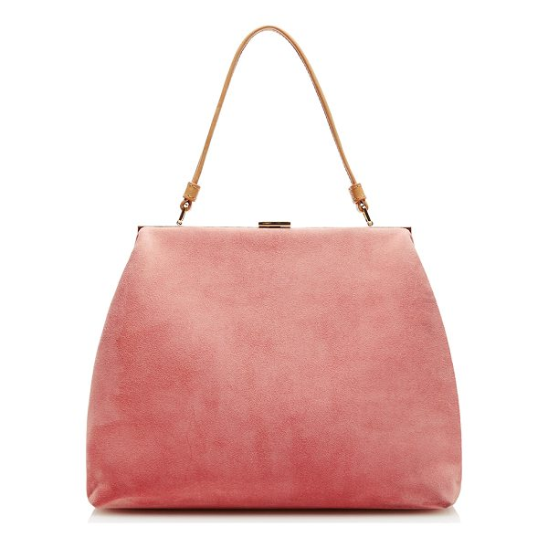 MANSUR GAVRIEL Soft Elegant Bag - This *Manur Gavriel* elegant bag is rendered in suede and...