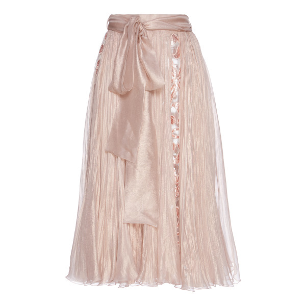 MARIA LUCIA HOHAN Abra Silk Skirt - Crafted in silk this *Maria Lucia Hohan* skirt features a...