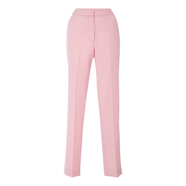 OSCAR DE LA RENTA High Waisted Straight Trousers - Crafted in virgin wool these *Oscar de la Renta* trousers...