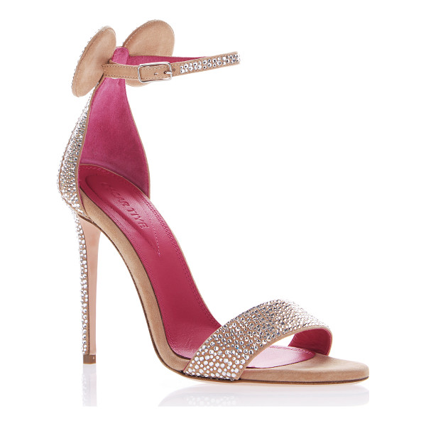 OSCAR TIYE Minnie Sandal - This *Oscar Tiye* sandal is rendered in suede and features