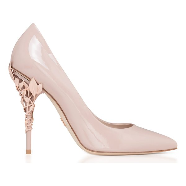 RALPH & RUSSO Eden Patent Pump - This *Ralph & Russo* pump is rendered in patent leather and...