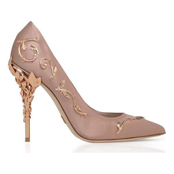 RALPH & RUSSO Eden Satin Pump - This *Ralph & Russo* pump is rendered in silk and features...