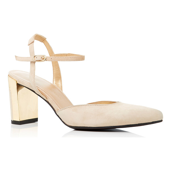 STUART WEITZMAN Poetic Suede Pumps - Stuart Weitzman's 'Poetic' pumps are crafted from supple