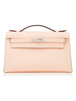 HERITAGE AUCTIONS SPECIAL COLLECTION Hermes Rose Eglantine Swift Leather Kelly Pochette