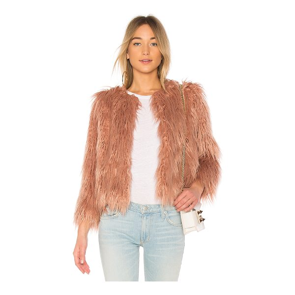 1. STATE Faux Fur Jacket - Faux Fur: 100% acrylicContrast 1 & Lining: 100% poly. Dry...