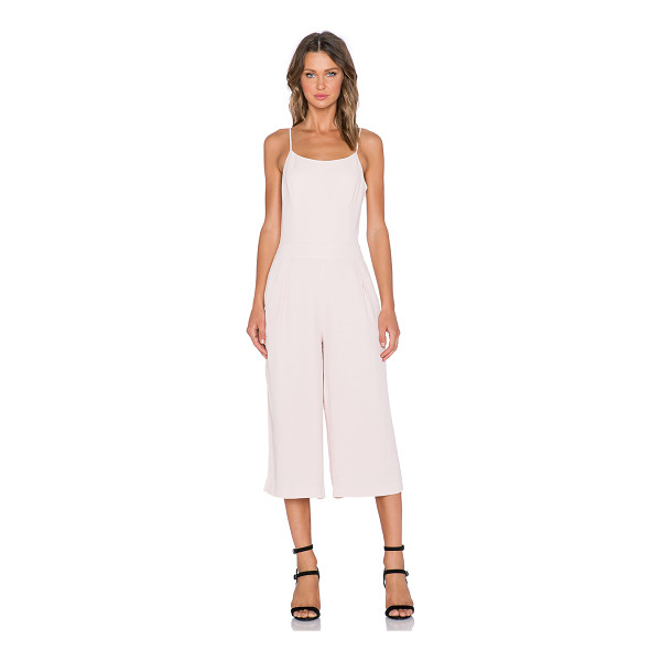 1. STATE Wide leg jumpsuit - Shell: 100% rayonLining: 100% poly. Dry clean only....