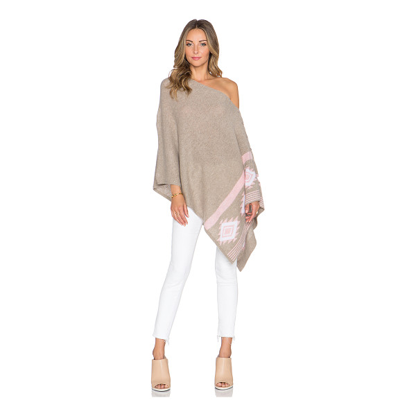 27 MILES MALIBU Chumash mojave poncho - 100% cashmere. Dry clean only. Button closures. 27MR-WK44....