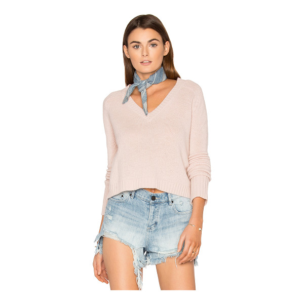 360SWEATER Manon Cashmere Sweater - 100% cashmere. Dry clean only. Knit fabric. 360S-WK472....