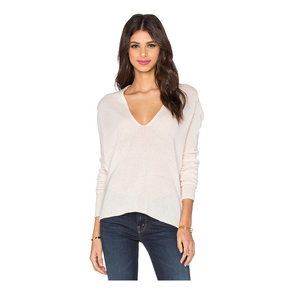 360SWEATER Valeria plunge neck sweater - 100% cashmere. Dry clean only. 360S-WK361. 29146. Husband...
