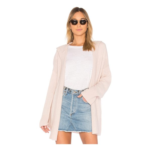 360CASHMERE Erin Cardigan - 100% cashmere. Dry clean only. Open front. Side seam...