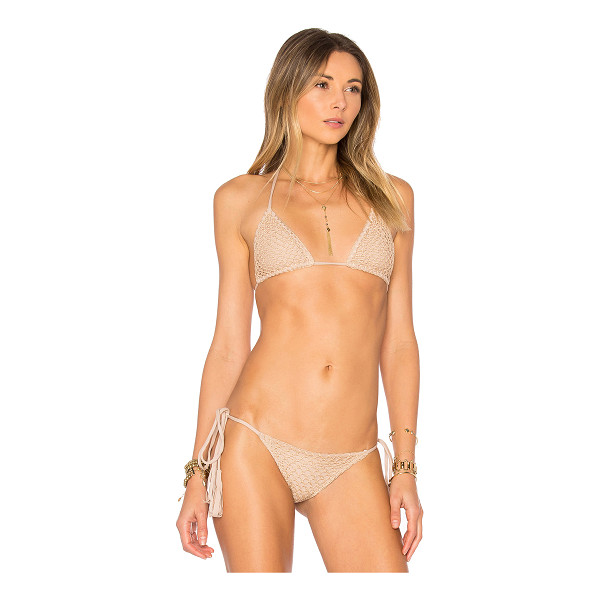 ACACIA SWIMWEAR Humuhumu Top - Tune into the melody of Acacia's Humuhuma Top. Crochet...