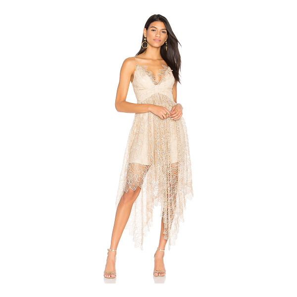 ACLER Elan Lace Dress - Poly blend. Dry clean only. Fully lined. Plastic bodice...